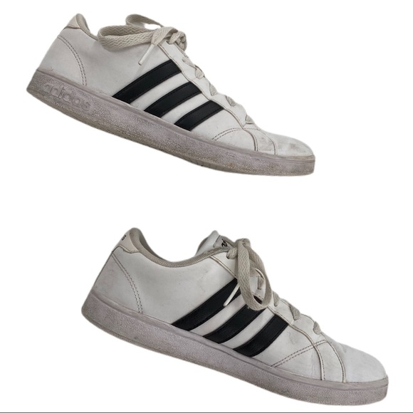 ADIDAS Neo Comfort Footbed Black & White Sneakers